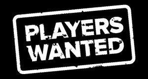 New players wanted!